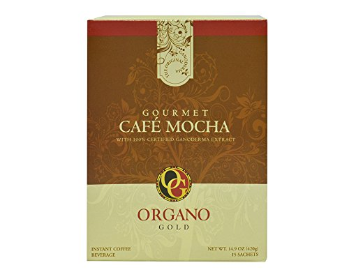 2 Box Organo Gold Cafe Mocha 100% Certified Organic Organic Lucullus Coffee