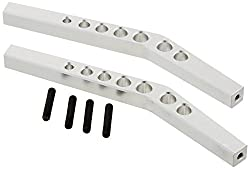 St Racing Concepts Sta80083us Aluminum Heavy Duty Upper Suspension Links For The Axial Wraith, Silver