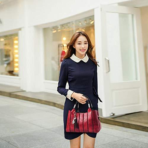 De YXLONG Sacs rubberpowder Main Femme Bandoulière Nouveau à à Stéréotype Coréenne Sac Femme Sac Version des Doux Mode Messenger Sac PH4Pr8