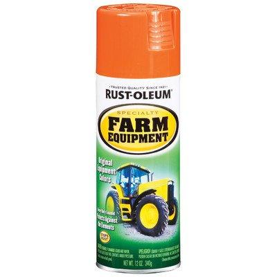 12 Oz Allis Chalmers Orange Farm Equipment Spray Paint [Set of 6]