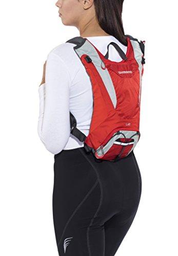 Shimano Unzen II Backpack 2 L firely red 2017 Rucksack