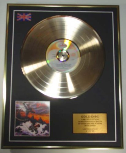 DIO/EDITION LIMITEE/CADRE DISQUE D'OR CD ET VINYLE/HOLY DIVER Everythingcollectible