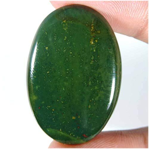 50.45Cts.100% Natural Stunning Bloodstone Jasper Oval CAB TOP Loose Gemstones