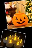 Tea Lights, Flameless LED Tea Lights Candles, Battery Powered Fake Candles,Warm Amber, Ideal for Wedding, Party, Holidays, Home Decoration and Outdoor, Pack of 24