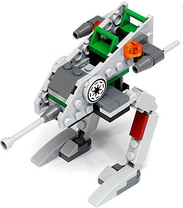 Star Wars Clone Scout Walker (LEGO Star Wars The Clone Wars Loose Mini Vehicles Clone Walker Loose Vehicle [Loose])
