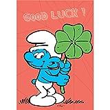 Puppy Postcard The Smurfs, Smurf Good Luck ! (10x15cm)