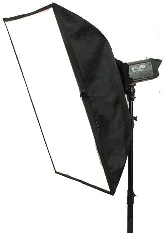 CowboyStudio 20 x 28in Photo Softbox for Strobe with Carry Case