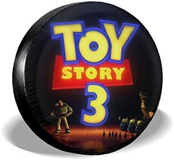 トイストーリーキャラクター13 タイヤトート タイヤカバー タイヤバッグ 持ち運び便利 防日焼け 防水 劣化対策 タイヤ収納 1枚