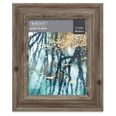Nielsen Bainbridge Barnwood Frame - 16'' x 20'', Light Gray
