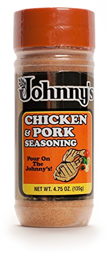 Pork Chicken - Johnny's Chicken and Pork Seasoning, 4.75 Ounce (Pack of 3)