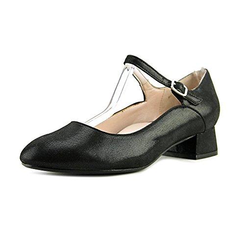 Taryn Rose Womens Fannie Closed Toe Ankle Strap Mary Jane Pumps Black J6tu7