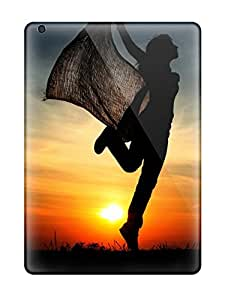 New Style CaseyKBrown Cheerful Sunset Premium Tpu Cover Case For Ipad Air