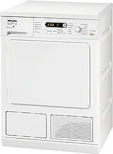 Miele T 8826 WP EcoComfort Independiente Carga frontal 7kg A Color blanco - Secadora (Independiente, Carga frontal, Condensación, A, Color blanco, Botones, Giratorio)