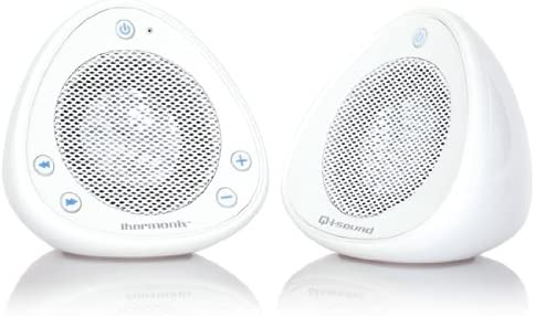 iHarmonix QM-QI-SOUND-WH Bluetooth Speakers – Retail Packaging – White