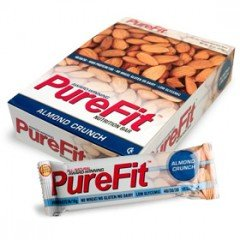 Purefit Almond Crunch Protein Bar 2oz. (Pack of 6)