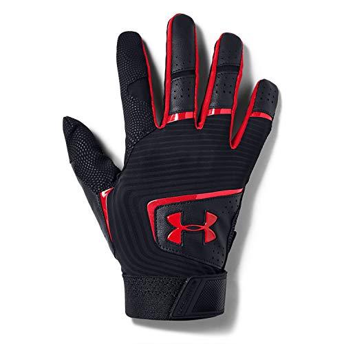 Under Armour Clean Up 19 Baseball Glove, Black (002)/White, Medium