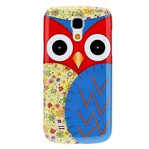 PEACH Cartoon Design Owl Pattern Durable Hard Case for Samsung Galaxy S4 Mini I9190