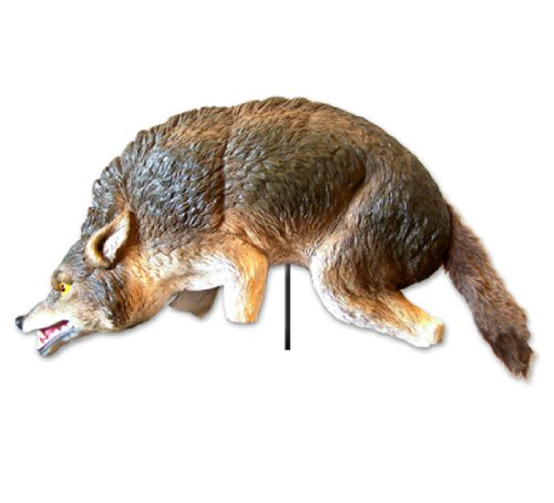 Bird-X Coyote 3-D Predator Replica Visual Scare for Bird ...