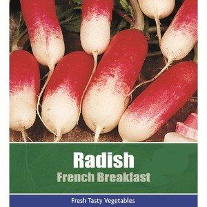 De Ree Radish French Breakfast Vegetable Plant 350 Seeds