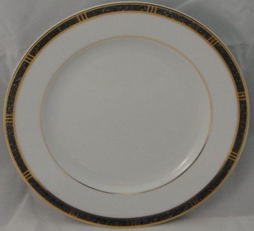 Bernardaud Antinea Anthracite Bread & Butter Plate Bernardaud Gifts