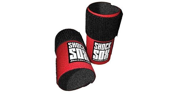 Shock Sox Fork Seal Guards 37-50mm Fork Tube 6 Red for Honda XR650L 1993-2006