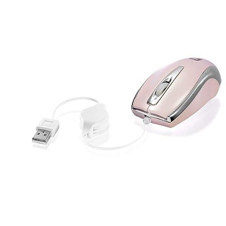 Mouse Usb Óptico Led 800 Dpis Mini Net Prata Ms3209-2r C3 Tech