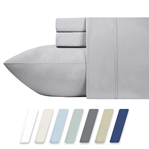 600 Thread Count Best Bed Sheets 100% Cotton Sheets Set - Li