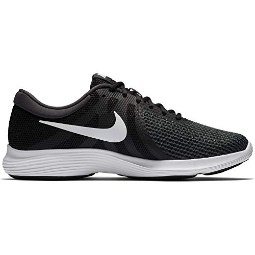Nike Men's Revolution 4 Running Shoe, Black/White-Anthracite, 10 Regular US