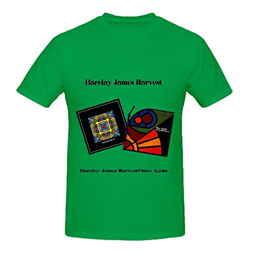 barclay-james-harvest-once-again-tracks-men-casual-shirt-green
