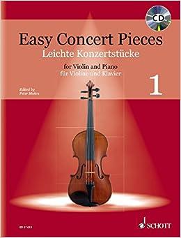 Amazon com: Easy Concert Pieces for Violin and Piano