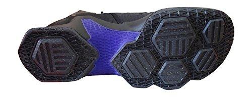 Nike Heren Lebron Xiii Basketbalschoen Zwart Metallic Goud Hyper Druif 007