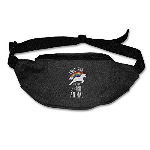 Unicorns Are My Loving Animal Reflective Wallets Fanny Pouch Waist Packs Hip Pack Bum Chest Bag