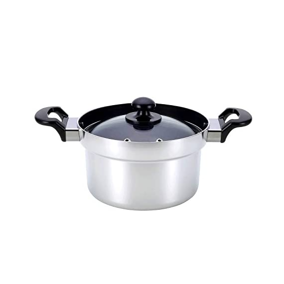 Rinnai rice cooker dedicated pot gas stove for cooking rice pot 3 Go cook RTR-300D1 1 Body size: width 34.5 cm Depth 21.0 cm Height 16.5 cm Gas cooked rice cooks the entire vessel at high temperature, so heat convection is born, rice contains a lot of moisture.