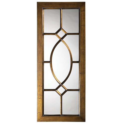 Howard Elliott 60108 Dayton Mirror, Aged Bronze