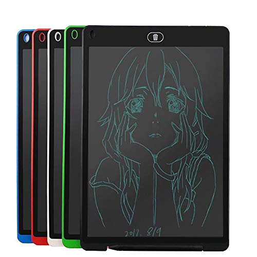 E.I.H. 8.5 Inch LCD Drawing Tablet Ultra-Thin 12'' LCD Writing Tablet Digital Graphics Tablet Handwriting Writing Board with Stylus Pen Electronic Drawing Pad