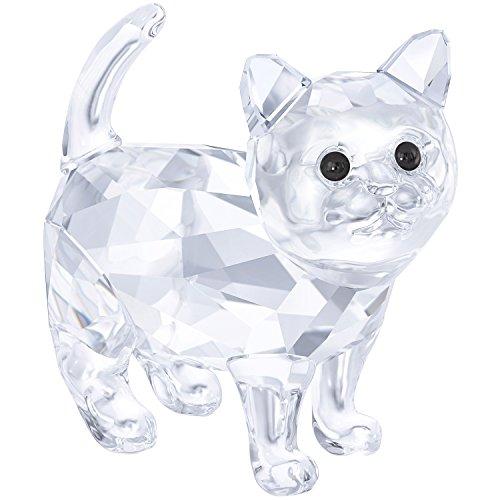 Swarovski Crystal KITTEN - BABY CAT CLEAR CRYSTAL 2017 #5269815