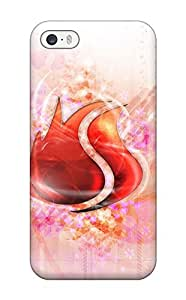 Durable Defender Case For Iphone 5/5s Tpu Cover(artistic Abstract Artistic)