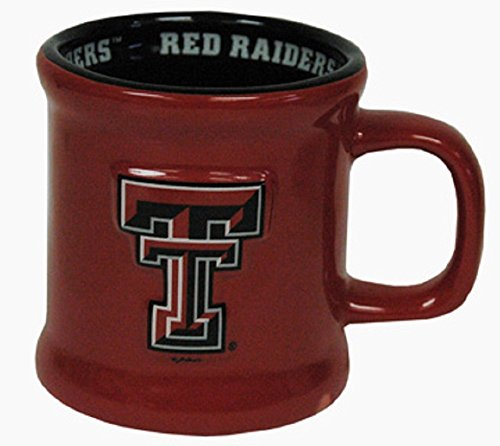 Game Day Outfitters Texas Tech University Red Raiders Ceramic Mug Tech Game Day Ceramic