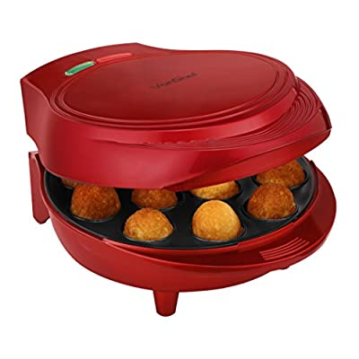 VonShef 12 Cake Pop Maker - Red