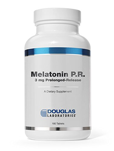 - Douglas Laboratories - Melatonin - Prolonged Release Supports Sleep/Wake Cycles* (3 mg.) - 180 Tablets