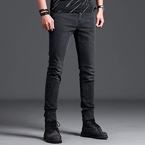 Semplici Grandi Slim Jeans Basic Da High Heavy Neri Fit Uomo Indossabili End Colour Vestibilità Taglie Dritti PxPSrBwp