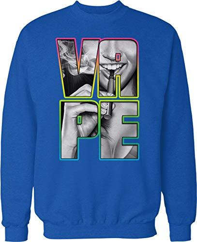 Hoodteez Vape Girl, Vaping Crew Neck Sweatshirt, XXXL - Sub Vape Ohm Coils