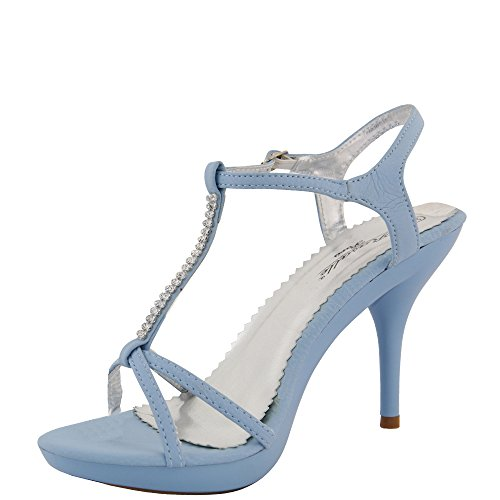 Rasalle Paris - Sandalias de vestir de Material Sintético para mujer Azul - azul