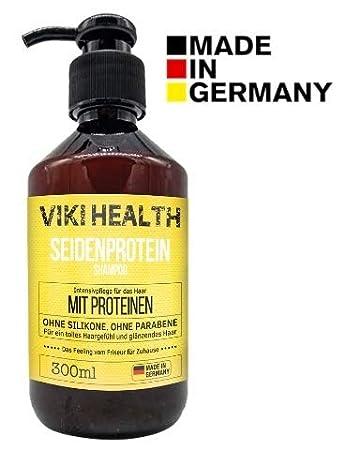 Viki Health Silikonfreies Haarkur Shampoo Gegen Spliss Frizz