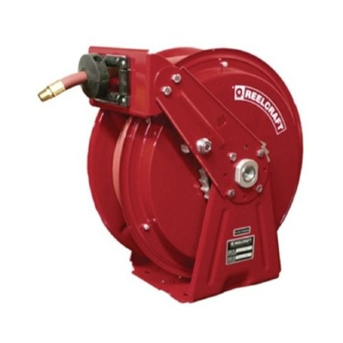 Reelcraft Dp7650 Olp 3 8 Inch By 50 Feet Spring Driven Hose Reel For Air Water