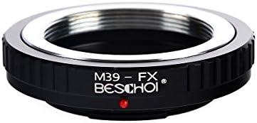 M39-FX Leica M39 L39 Lens to Fuji Fujifilm FX X-Mount Adapter Ring UK Stock