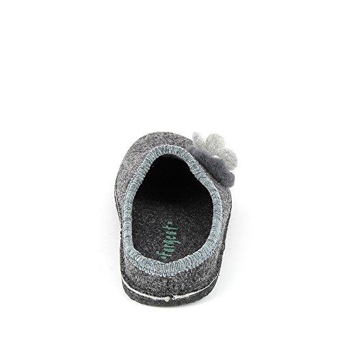 Grigio Pantofole Fargeot Fargeot Donna Pantofole Y4XTqaz