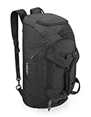 Duffel bag vs backpack? Why not both. The G4Free Duffle bag can be used as a duffle bag, shoulder bag or as a backpack. The adjustable bubble foam padded shoulder straps can be easily tucked away when not in use. Awesome duffel Bag for outdoo...