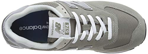 New Balance 574 Core, Baskets Homme, Grey, 42 EU 5