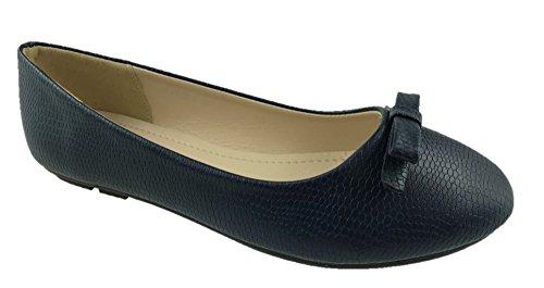 Marino Azul Ballet Footwear Mc Mujer n1BOWcWq5d